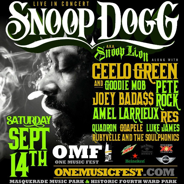 ONE music snoop lion
